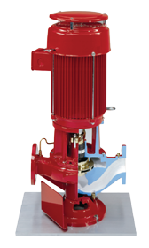 Vertical Inline Pumps View 2